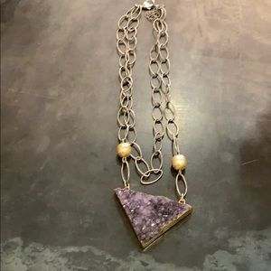 Jewelry - Short Amethyst Necklace